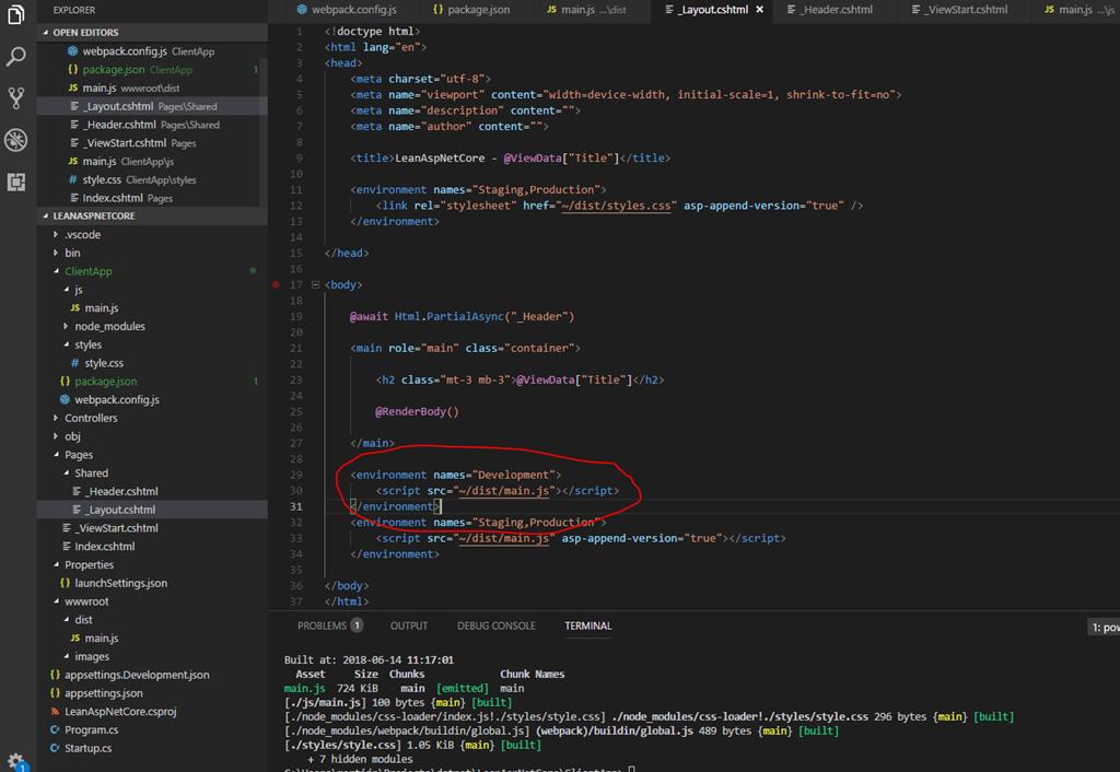Lean ASP NET Core 2 1 – manually setup a Razor Pages project